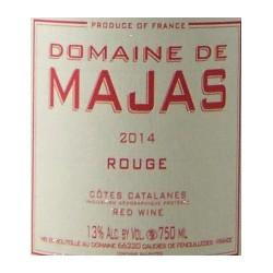 Domaine Majas - Rouge 2019 - IGP Côtes Catalanes