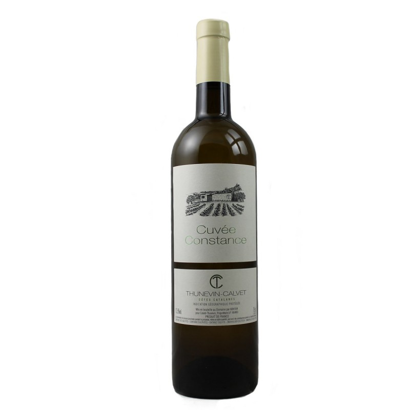 Domaine Thunevin Calvet - Constance Blanc 2020 - IGP Côtes Catalanes
