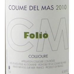 Coume Del Mas - Folio 2020 - AOP Collioure