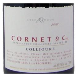 Abbé Rous - Cornet & Cie - AOC Collioure Rouge - 2017