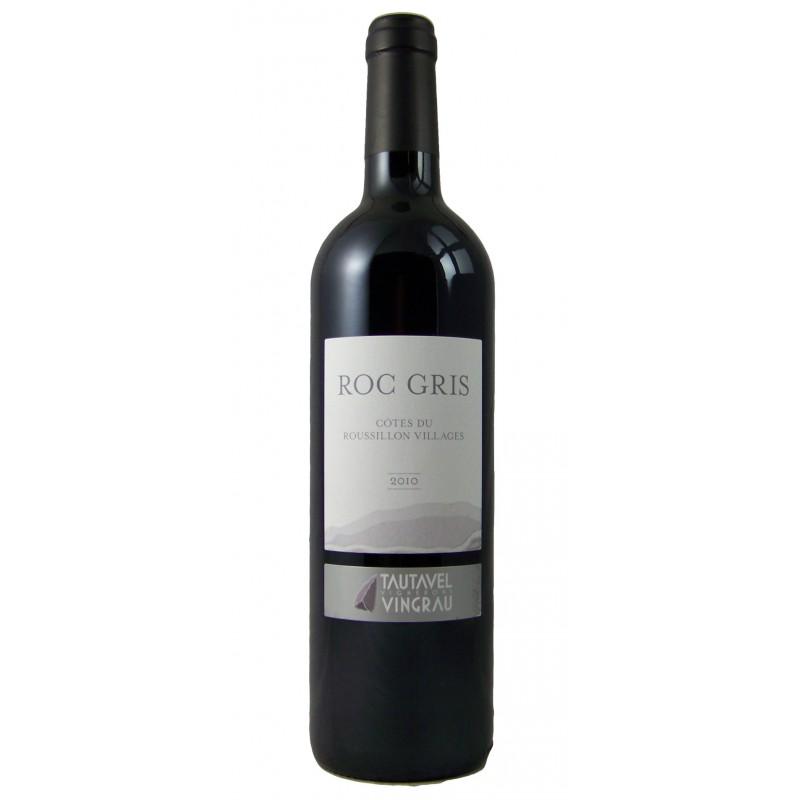 Les Vignerons de Tautavel Vingrau - Roc Gris - AOP Côtes du Roussillon Villages
