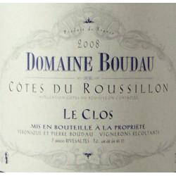Domaine Boudau - Le Clos 2019 - AOP Côtes du Roussillon