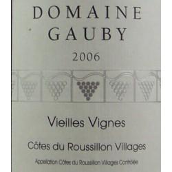 Domaine Gauby - Vieilles Vignes 2018 - AOP Côtes du Roussillon Villages