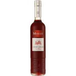 Liqueur Merlet - Crème de Fraise des bois - 50 cl - 18 % vol