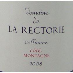 Domaine La Rectorie - Côté Montagne - AOP Collioure Rouge