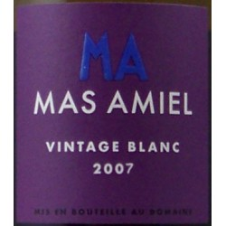 Mas Amiel - Vintage 2018 - AOP Maury Blanc