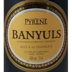 Banyuls Pyrène Abbé Rous 3 ans d'âge