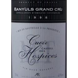 Abbé Rous Castell des Hospices Grand Cru 2003 - AOP Banyuls